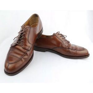Cole Haan Green Label Split-Toe Leather Oxfords